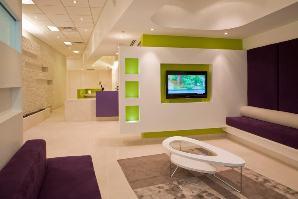 Modern dermatology clinic in md forma design inc forma design for Dermatology clinic interior design